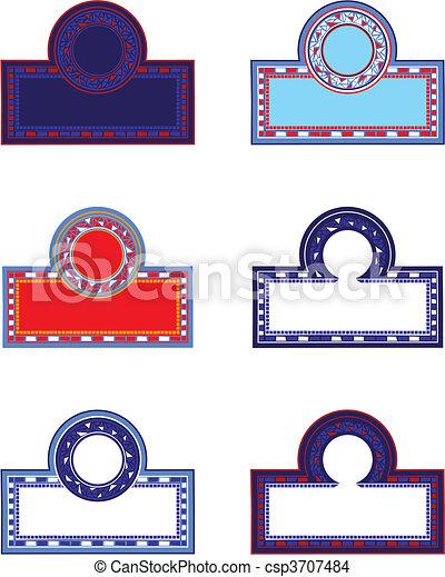 Mosaic Frames - csp3707484
