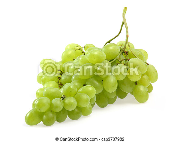 Green grapes - csp3707982