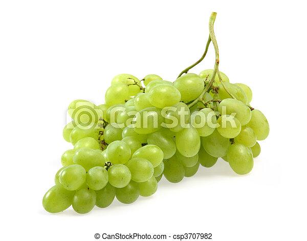 Green grapes - csp3707982