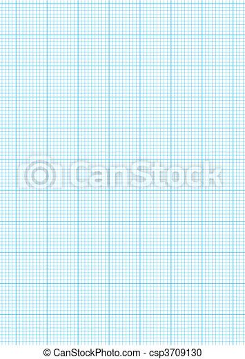 Graph paper A4 sheet - csp3709130