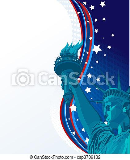 Freedom - csp3709132