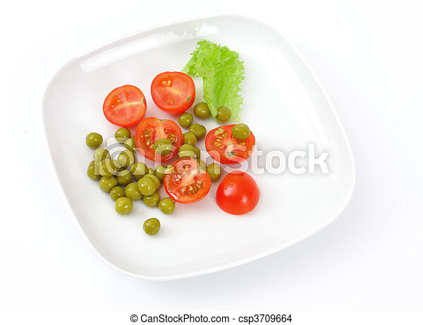 Vegetarian food - csp3709664