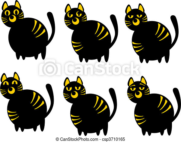 Cats of emotion - csp3710165