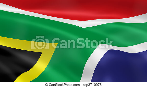 South Africa Flag - csp3710976