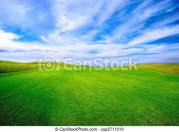 Golf course - csp3711010