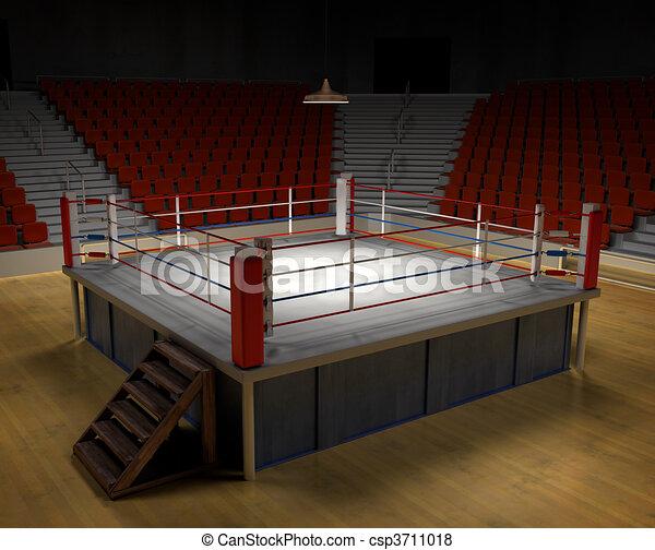 Boxing Arena - csp3711018