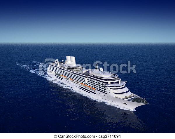 cruise ship - csp3711094