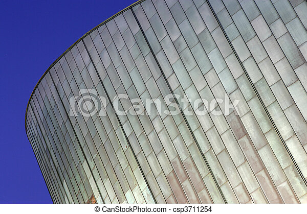 Fish Scale Architecture - csp3711254
