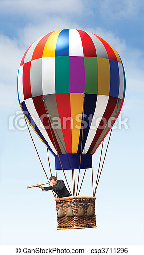 Hot Air Balloon - csp3711296