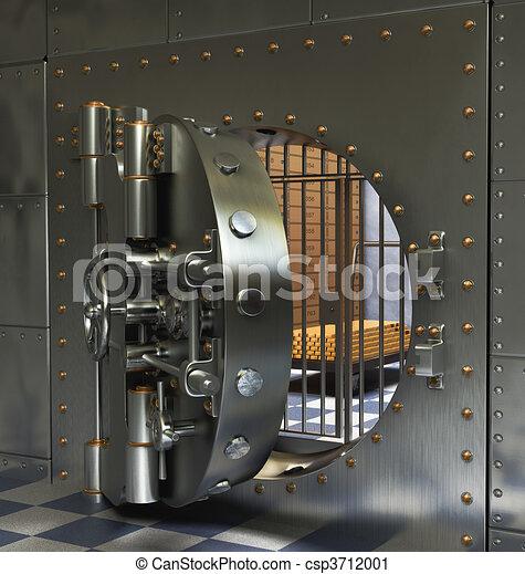 Vintage Safes - csp3712001