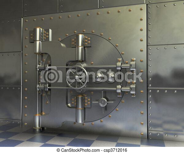 Vintage Safes - csp3712016
