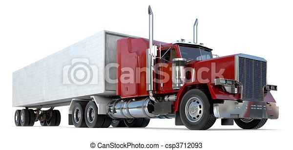 18 wheeler - csp3712093