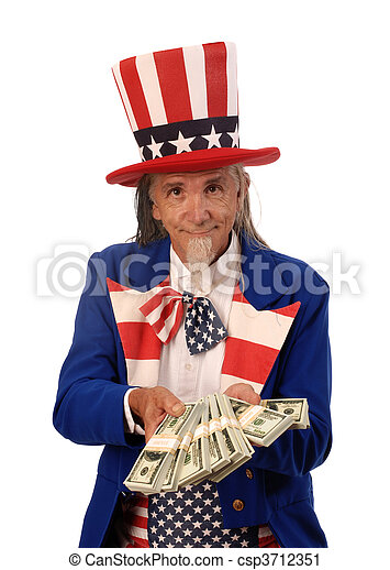 Government Spending - csp3712351