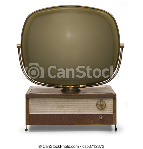 Retro TV - csp3712372