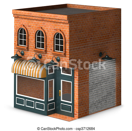 Store Front - csp3712684