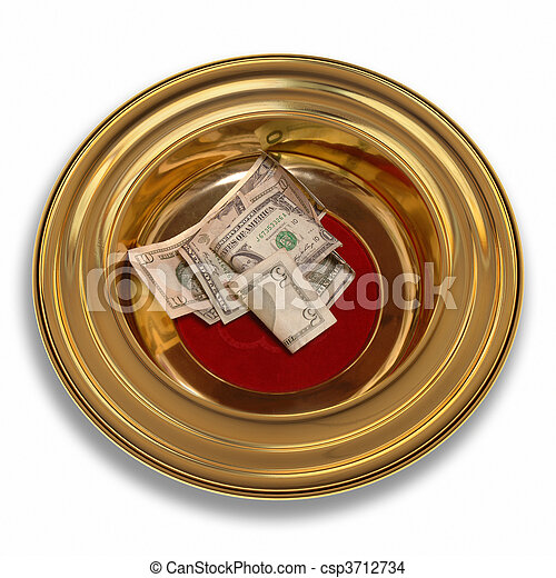 Offering Plate - csp3712734