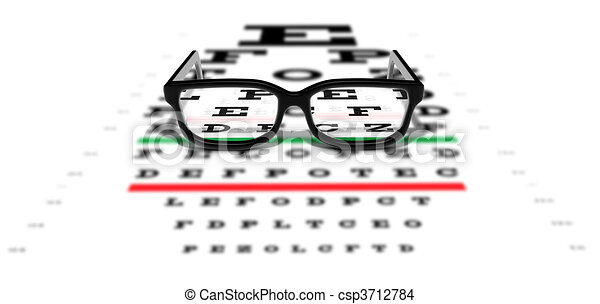 Prescription Glasses - csp3712784