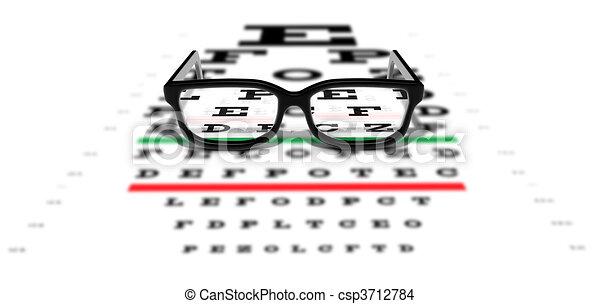 Prescription Glasses - csp3712784