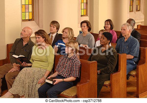Church Congregation - csp3712788