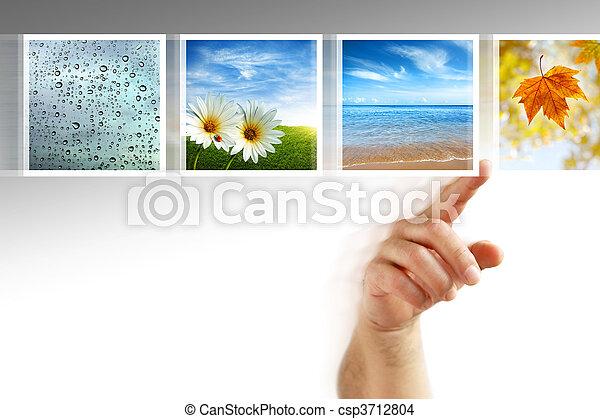 photos touchscreen - csp3712804