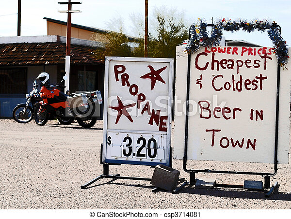 Cheap Cold Beer - csp3714081