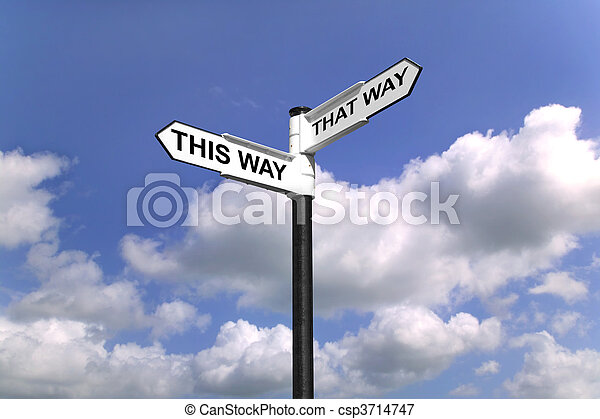 This Way That Way Which way to turn - csp3714747