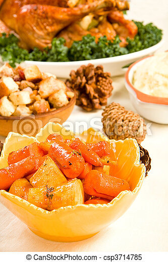 Carrots and Parsnips - csp3714785