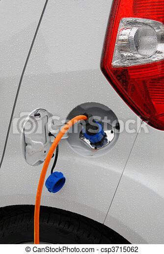 Charging electric car prototype - csp3715062