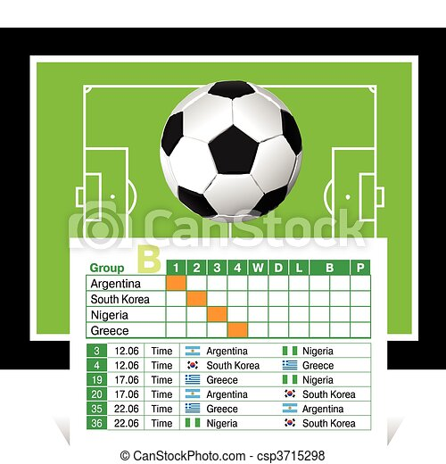 schedule of games of the World Cup - csp3715298