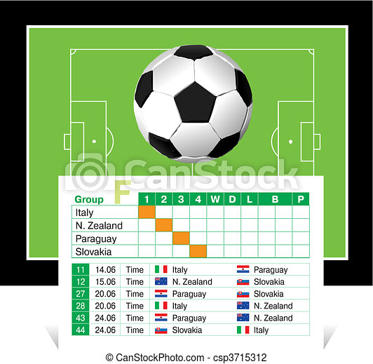 schedule of games of the World Cup  - csp3715312