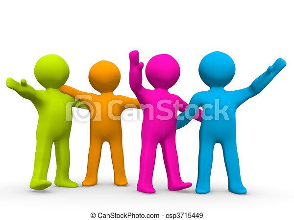 The Right Team - csp3715449