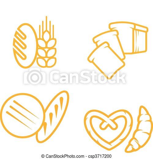 Bread symbols - csp3717200