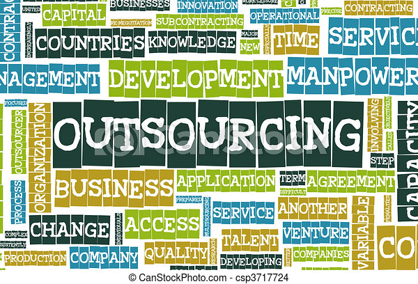 Outsourcing - csp3717724