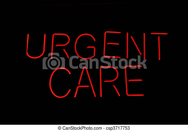 Urgent Care Medical Sign - csp3717753