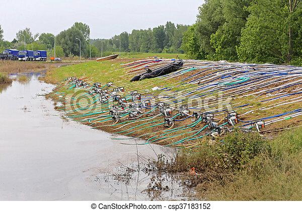Flood Pumps - csp37183152