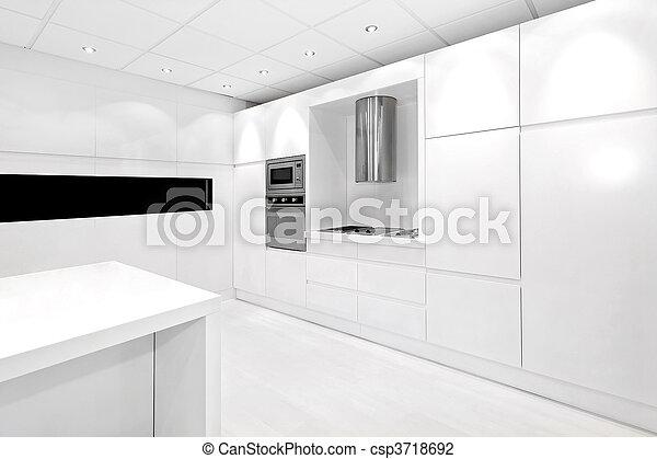 White kitchen - csp3718692