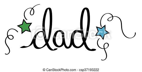 Dad - csp37193222