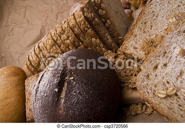 picture of different cereals - csp3720566