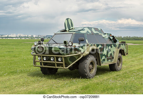 Military armored vehicle - csp37209881
