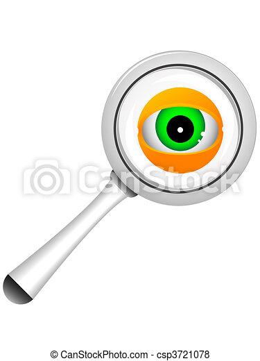 magnifier - csp3721078
