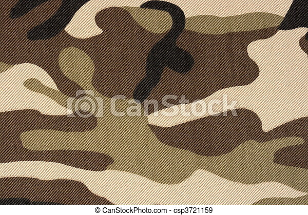brown woodland camo background - csp3721159