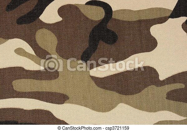 brown woodland camo background - csp3721159