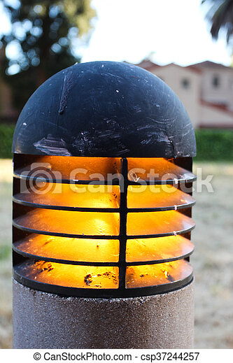 Walkway Light - csp37244257