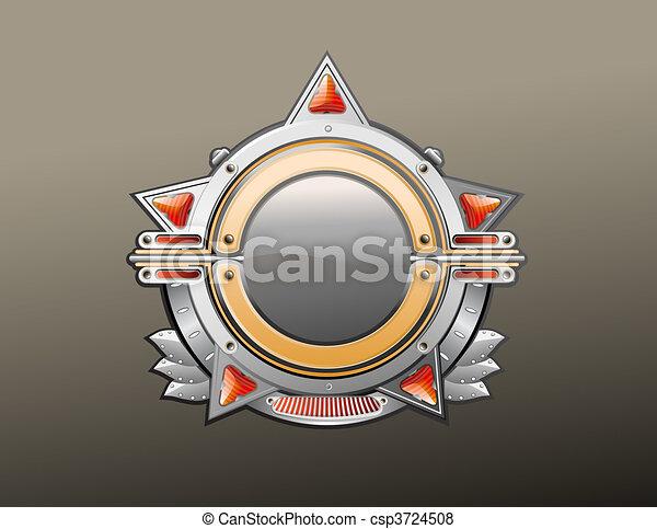 Insignia - star shaped. - csp3724508