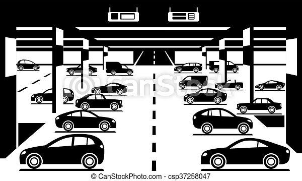 Car parking Stock Illustration Images. 10,186 Car parking ...