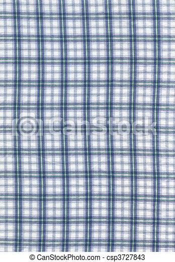 Checked cloth texture - csp3727843