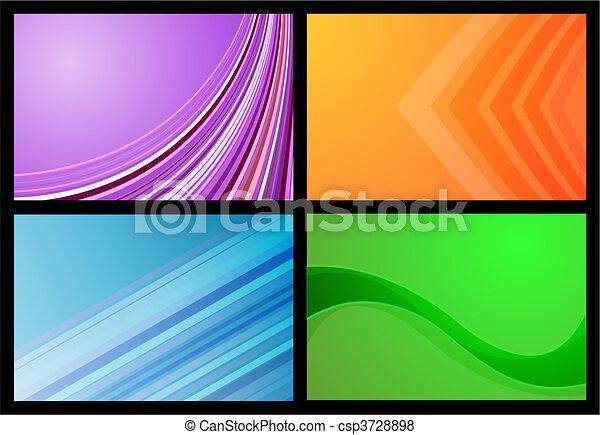 Gradient backgrounds - csp3728898