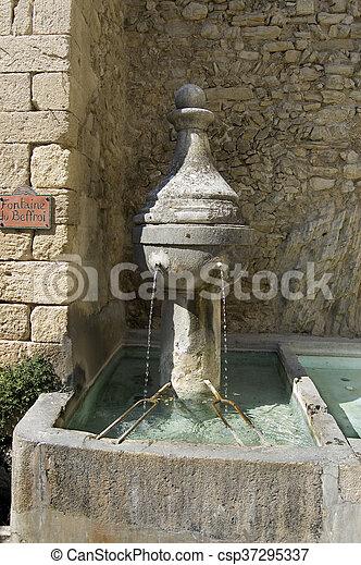 Fontaine du Beffroi - csp37295337