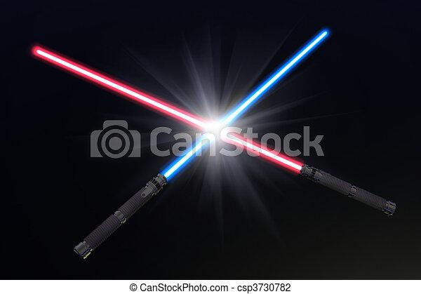 Crossed Lightsabers Light Crossed Light Sabers