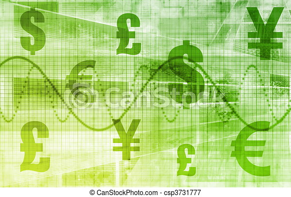 Global Currencies - csp3731777